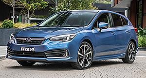 New Models – Subaru – Impreza – Range