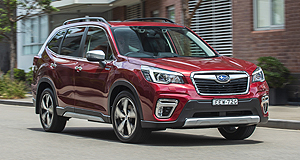 New Models – Subaru – Forester – Hybrid