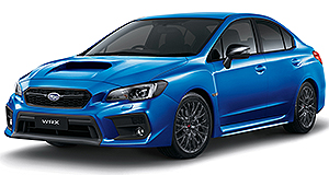 New Models – Subaru – WRX – Club Spec